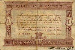 1 Franc FRANCE régionalisme et divers Angers 1915 JP.008.06 TB