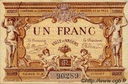 1 Franc FRANCE régionalisme et divers ANGERS 1915 JP.008.07