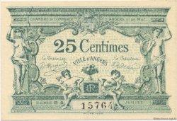 25 Centimes FRANCE régionalisme et divers Angers 1915 JP.008.08 SPL à NEUF