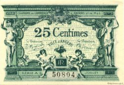 25 Centimes FRANCE régionalisme et divers ANGERS 1915 JP.008.11 SPL à NEUF