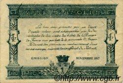 25 Centimes FRANCE régionalisme et divers Angers 1915 JP.008.11 TB