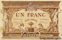 1 Franc FRANCE régionalisme et divers ANGERS 1915 JP.008.12 TTB à SUP