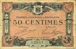 50 Centimes FRANCE régionalisme et divers ANGOULÊME 1915 JP.009.01 TB