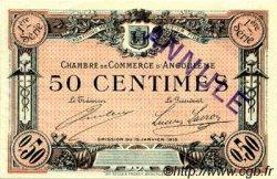50 Centimes FRANCE régionalisme et divers ANGOULÊME 1915 JP.009.02 SPL à NEUF