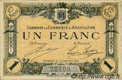 1 Franc FRANCE régionalisme et divers Angoulême 1915 JP.009.03 TB