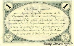 1 Franc FRANCE régionalisme et divers ANGOULÊME 1915 JP.009.05 SPL à NEUF