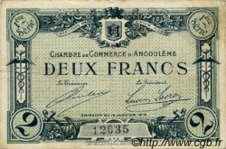 2 Francs FRANCE régionalisme et divers Angoulême 1915 JP.009.06 TB