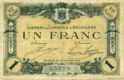 1 Franc FRANCE régionalisme et divers Angoulême 1915 JP.009.11 TB