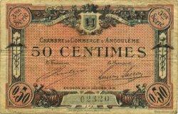 50 Centimes FRANCE régionalisme et divers ANGOULÊME 1915 JP.009.13 TB