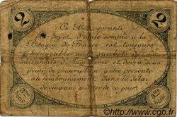 2 Francs FRANCE régionalisme et divers ANGOULÊME 1915 JP.009.18 TB