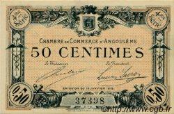 50 Centimes FRANCE régionalisme et divers Angoulême 1915 JP.009.20 TTB à SUP