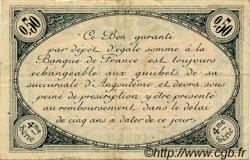 50 Centimes FRANCE régionalisme et divers ANGOULÊME 1915 JP.009.20 TB