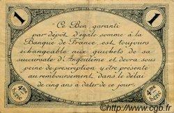 1 Franc FRANCE régionalisme et divers Angoulême 1915 JP.009.21 TTB à SUP