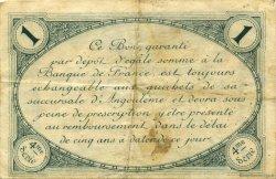 1 Franc FRANCE régionalisme et divers Angoulême 1915 JP.009.21 TB