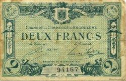 2 Francs FRANCE régionalisme et divers Angoulême 1915 JP.009.22 TB