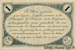 1 Franc FRANCE régionalisme et divers Angoulême 1915 JP.009.27 SPL à NEUF