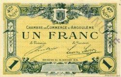 1 Franc FRANCE régionalisme et divers ANGOULÊME 1915 JP.009.28 SPL à NEUF