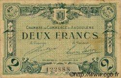 2 Francs FRANCE régionalisme et divers ANGOULÊME 1915 JP.009.31 TB