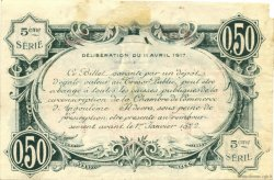 50 Centimes FRANCE régionalisme et divers ANGOULÊME 1917 JP.009.33 TB