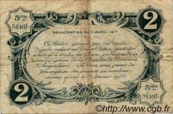 2 Francs FRANCE régionalisme et divers Angoulême 1917 JP.009.38 TB