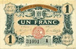 50 Centimes FRANCE régionalisme et divers ANGOULÊME 1917 JP.009.40 SPL à NEUF
