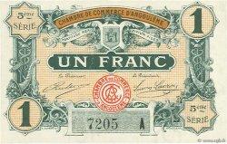 1 Franc FRANCE régionalisme et divers Angoulême 1917 JP.009.42 SPL à NEUF