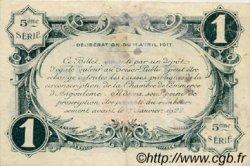1 Franc FRANCE régionalisme et divers ANGOULÊME 1917 JP.009.42 TTB à SUP