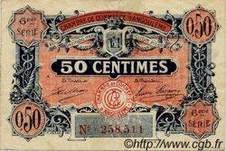 50 Centimes FRANCE régionalisme et divers Angoulême 1920 JP.009.46 TTB à SUP