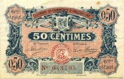 50 Centimes FRANCE régionalisme et divers ANGOULÊME 1920 JP.009.46 TB