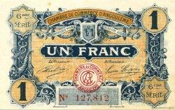 1 Franc FRANCE régionalisme et divers ANGOULÊME 1920 JP.009.47 SPL à NEUF