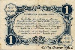 1 Franc FRANCE régionalisme et divers ANGOULÊME 1920 JP.009.47 TTB à SUP
