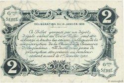 2 Francs FRANCE régionalisme et divers ANGOULÊME 1920 JP.009.49 TTB à SUP