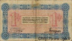 1 Franc FRANCE régionalisme et divers ANNECY 1915 JP.010.01 TB