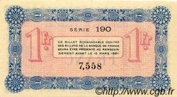 1 Franc FRANCE régionalisme et divers ANNECY 1916 JP.010.05 SPL à NEUF