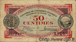 50 Centimes FRANCE régionalisme et divers Annecy 1916 JP.010.07 TB