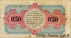 50 Centimes FRANCE régionalisme et divers ANNECY 1917 JP.010.09 TB
