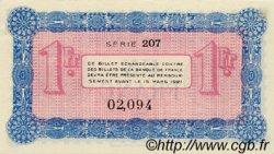 1 Franc FRANCE régionalisme et divers Annecy 1917 JP.010.12 SPL à NEUF