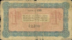 1 Franc FRANCE régionalisme et divers Annecy 1917 JP.010.12 TB