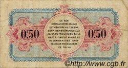 50 Centimes FRANCE régionalisme et divers ANNECY 1920 JP.010.15 TB