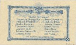 50 Centimes FRANCE régionalisme et divers ANNONAY 1914 JP.011.01 TTB à SUP