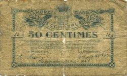 50 Centimes FRANCE régionalisme et divers ANNONAY 1914 JP.011.01 TB