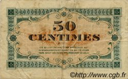 50 Centimes FRANCE régionalisme et divers ANNONAY 1917 JP.011.09 TB