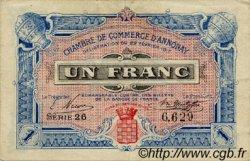 1 Franc FRANCE régionalisme et divers ANNONAY 1917 JP.011.18 TB