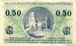 50 Centimes FRANCE régionalisme et divers ARRAS 1918 JP.013.04 TB