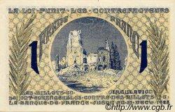 1 Franc FRANCE régionalisme et divers ARRAS 1918 JP.013.05 SPL à NEUF