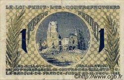 1 Franc FRANCE régionalisme et divers ARRAS 1918 JP.013.05 TB