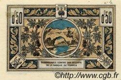 50 Centimes FRANCE régionalisme et divers AUBENAS 1921 JP.014.01 SPL à NEUF