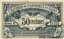 50 Centimes FRANCE régionalisme et divers Auch 1914 JP.015.01 SPL à NEUF