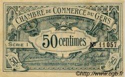 50 Centimes FRANCE régionalisme et divers Auch 1914 JP.015.01 TTB à SUP