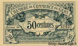 50 Centimes FRANCE régionalisme et divers Auch 1914 JP.015.05 SPL à NEUF